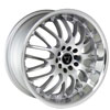 Image of TORO 9003 SILVER wheel