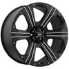 Image of BALLISTIC 902 FLAT BLACK OUTLAW wheel