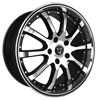 Image of TORO TR1010 BLACK MACHINED wheel