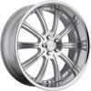 Image of CONCEPT ONE RS-10 SILVER MACHINED wheel