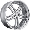 Image of CONCEPT ONE RS-55 SILVER MACHINED wheel