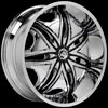 Image of DIABLO MORPHEUS CHROME wheel