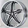 Image of GIANNA G1 BLITZ  CHROME wheel
