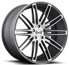 Image of BLAQUE DIAMOND BD TWO BLACK MACHINED wheel