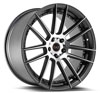 Image of BLAQUE DIAMOND BD FOUR GRAPHITE MACHINED wheel