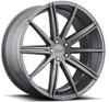 Image of BLAQUE DIAMOND BD NINE ALL GRAPHITE wheel