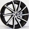 Image of STRADA SEGA GLOSS BLACK MACHINE FACE wheel