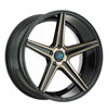 Image of MACH EURO ME1 GLOSS BLACK TINT wheel