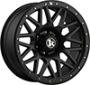 Image of KLUTCH OFF ROAD KT02  MATTE BLACK wheel