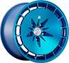Image of KLUTCH KM16 BLUE wheel