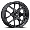 Image of VOXX LAGO GLOSS BLACK wheel