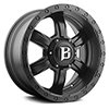 Image of BALLISTIC 962 SLAYER FLAT BLACK wheel