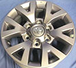 Image of OEM Toyota Tacoma 16in OE Silver wheel