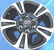Image of OEM Toyota Tacoma 2017 17in OE wheel