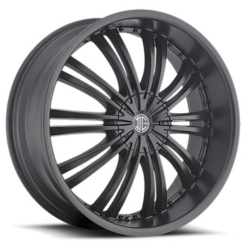 2 CRAVE No1 SATIN BLACK - Matte Black Finish