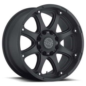 BLACK RHINO GLAMIS MATTE BLACK - Matte Black Finish