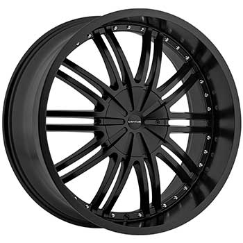 CRATUS CR8 FLAT BLACK - Flat Black Finish