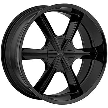 CRATUS CR7 GLOSS BLACK  - Black Finish