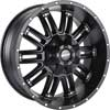 Image of MKW OFFROAD M80 BLACK wheel