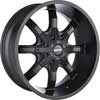 Image of MKW OFFROAD M81 BLACK wheel