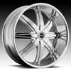Image of STRADA MAGIA CHROME SUV wheel