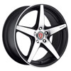 Image of BAVARIA BC5 CONCAVE MATTE BLACK MACHINED wheel