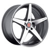 Image of BAVARIA BC5 CONCAVE CHARCOAL MACHINED wheel