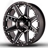 Image of RED DIRT ROAD USA SATIN BLACK MACHINED wheel