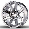 Image of RED DIRT ROAD USA CHROME wheel