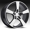 Image of SPORT CONCEPTS 860 BLACK MACHINED wheel