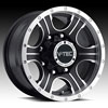 Image of VISION OFFROAD ASSASSIN MATTE BLACK MACHINED wheel
