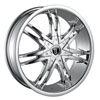 Image of BORGHINI BW B14 CHROME wheel