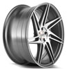 Image of BLAQUE DIAMOND BD ONE MATTE GRAPHITE MACHINED wheel