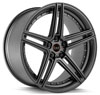 Image of BLAQUE DIAMOND BD SIX ALL MATTE GRAPHITE wheel