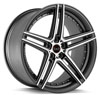 Image of BLAQUE DIAMOND BD SIX  GRAPHITE MACHINED wheel