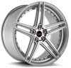 Image of BLAQUE DIAMOND BD SIX SILVER POLISHED wheel