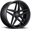 Image of BLAQUE DIAMOND BD EIGHT 2 TONE BLACK wheel
