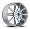 Image of BLAQUE DIAMOND BD NINE SILVER POLISHED wheel