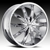 Image of AVENUE A608 CHROME wheel