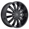 Image of AVENUE A610B SATIN BLACK wheel