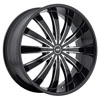 Image of AVENUE A610B MACHINE BLACK wheel