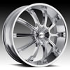 Image of MKW M111C CHROME wheel