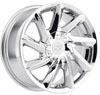 Image of MKW M115C CHROME wheel