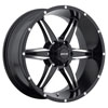 Image of MKW OFFROAD M89 BLACK MACHINED wheel