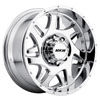 Image of MKW OFFROAD M91 CHROME wheel