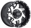 Image of MKW OFFROAD M91 BLACK MACHINED wheel