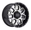 Image of MKW OFFROAD M92 BLACK MACHINED wheel