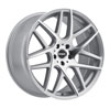 Image of RSR R702 SILVER MACHINED wheel