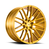 Image of BLACK DI FORZA BM13 GOLD wheel