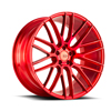 Image of BLACK DI FORZA BM13 RED wheel